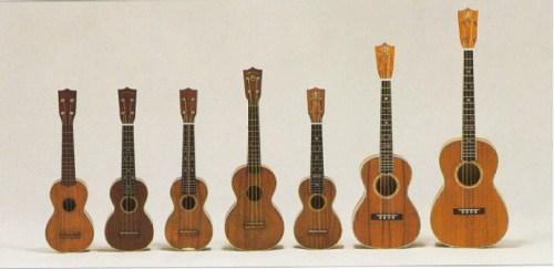 Martin_ukuleles